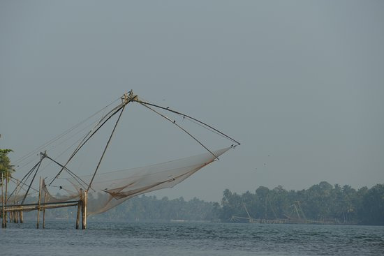 Chinese Fishing Nets on the River Periyar