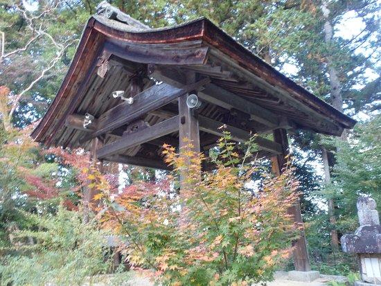 Choju-ji Temple: 鐘楼付近