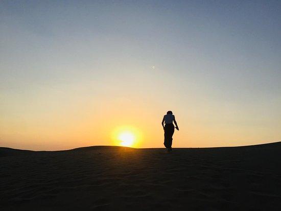 Half Day Camel Safari Sunset with...