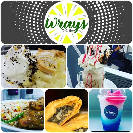 A small selection of what Wrays Cafe Bar has to offer.