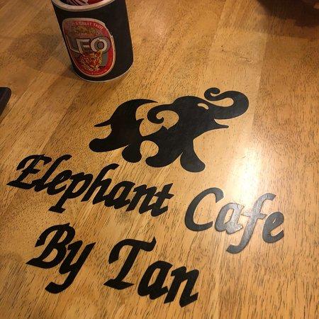 Elephant Cafe by Tan