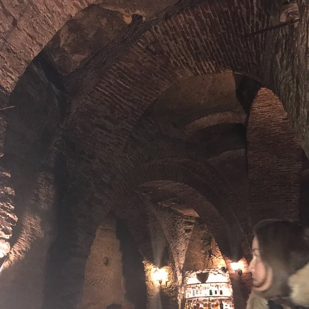Great cellar bar. - Picture of Restaurant Peklo, Prague - Tripadvisor