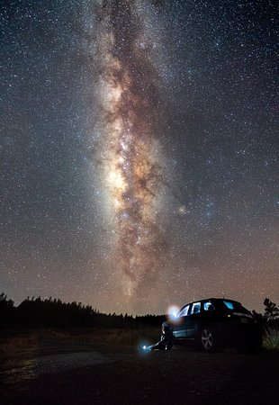 Constanza, Dominican Republic: The Milky Way as seen from the top of Valle Nuevo.