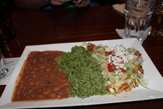Paradiso 37: Tex-Mex shredded chicken enchiladas
