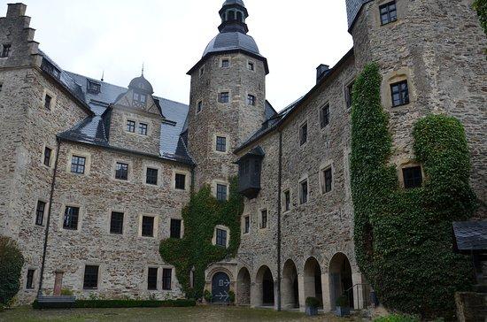 Ludwigsstadt, Saksa: Innenhof Burg Lauenstein