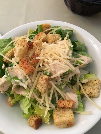 very good Caesar salad