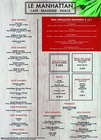Frevent, ฝรั่งเศส: Le menu traditionnel