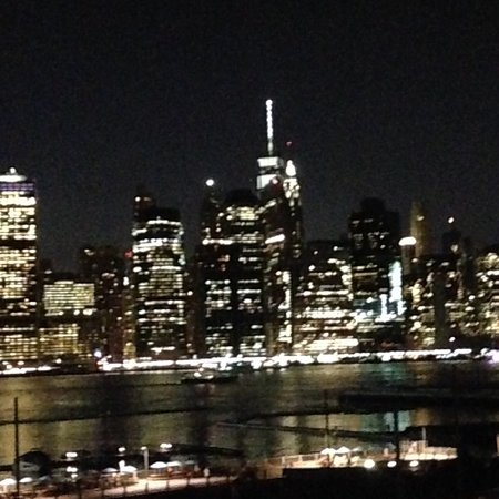 Looking across to Manhattan.