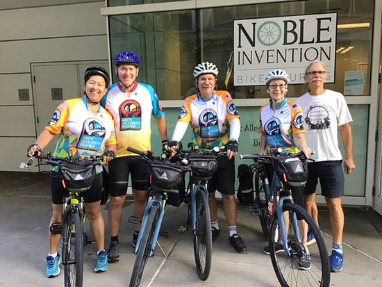 Noble Invention Bike Touring