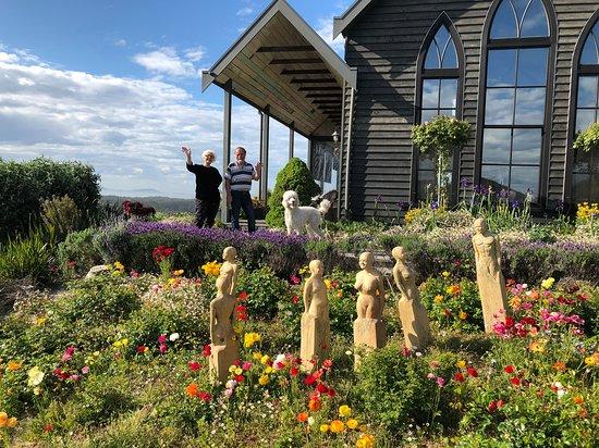 The Church House : Peter, Mary & Sydney!