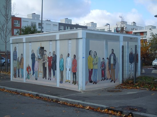 Sevran, Frankrig: La station de chauffage relookée