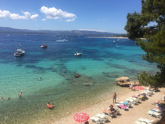 Ostrvo Brač, Hrvatska: Las cristalinas aguas de la isla Brac en Croacia no se olvidan facilmente...