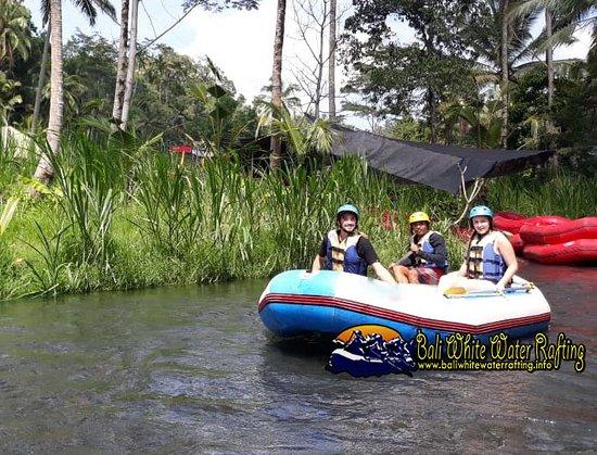 Bali White Water Rafting Bild