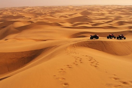 Quad Bike Tour av Namib Desert