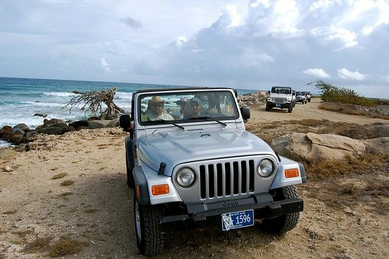 Aruba Demi-journée 4x4 Jeep Safari...