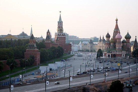 モスクワの赤い広場のプライベートウォーキングツアー