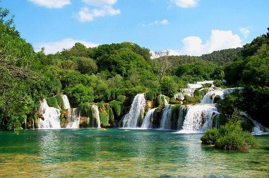 Krka vattenfall och Sibenik hel ...