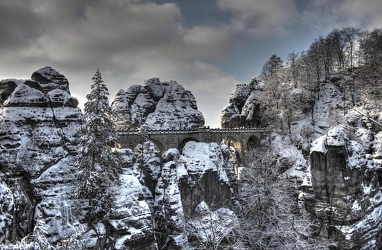 Bohemian And Saxon Switzerland Winter...