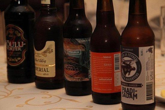 Dégustation de bière artisanale...