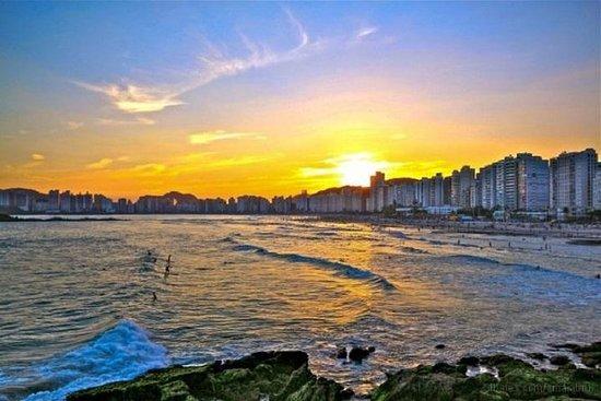 Visite privée : Santos et plage de...