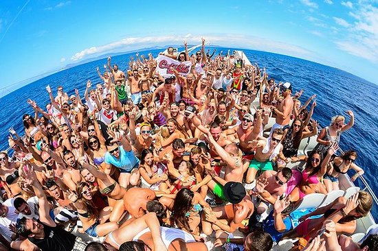 Oceanbeat Ibiza Boat Party...