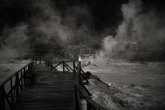 Furnas Hot Springs halvdagstur