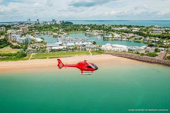 达尔文市和北部海滩30分钟的风景直升机之旅