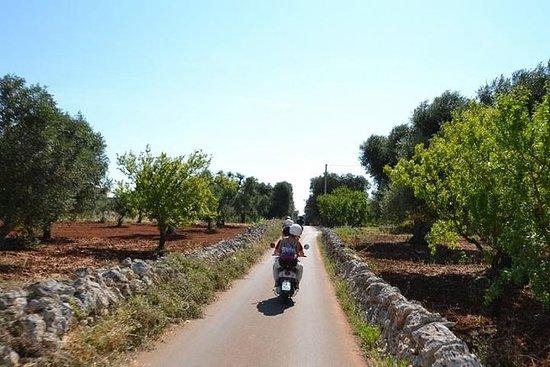 Visite en Vespa de la vallée d'Itria