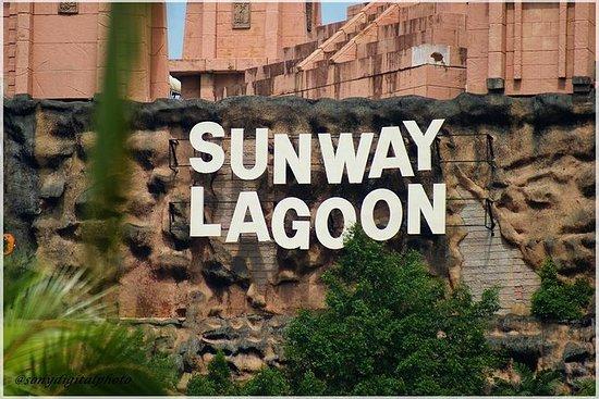 Sunway Lagoon Entre med rundtur...