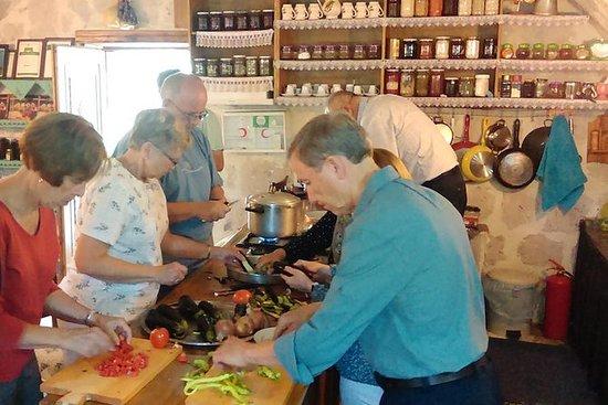 Clase de cocina gourmet en Capadocia