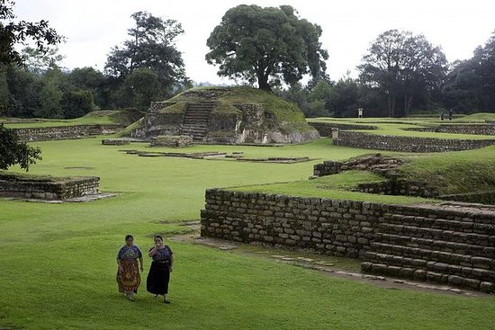 Iximche Archaeological Site from...