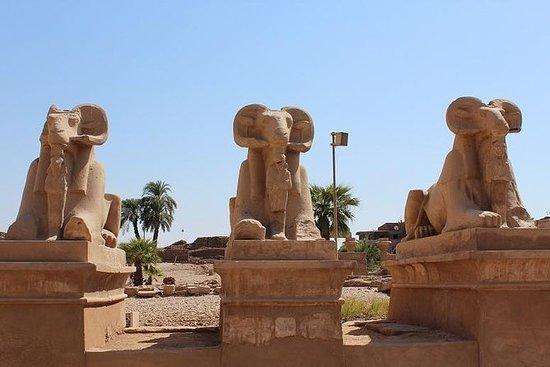 Visita ao Templo de Karnak de Luxor