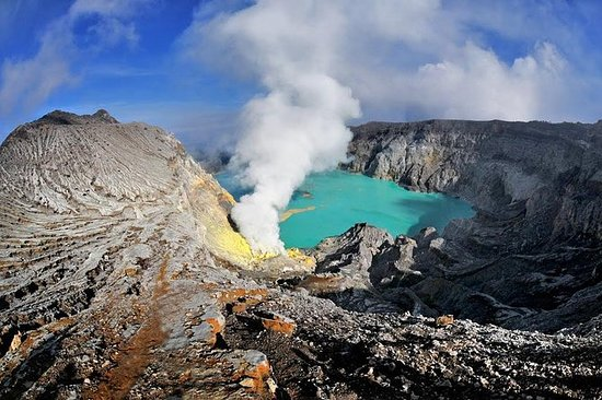 Mt. Ijen Blue Fire Trekking Tour from...