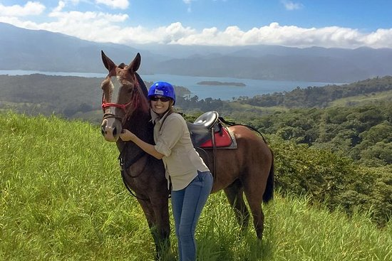Arenal Volcano Horseback Riding: Horseback Riding Tour at Mistico Hanging Bridges Park