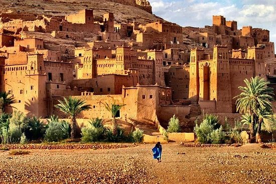 Fulldags privat tur til Kasbah Ait...