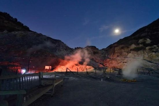 Night Guided Visit of Solfatara with...