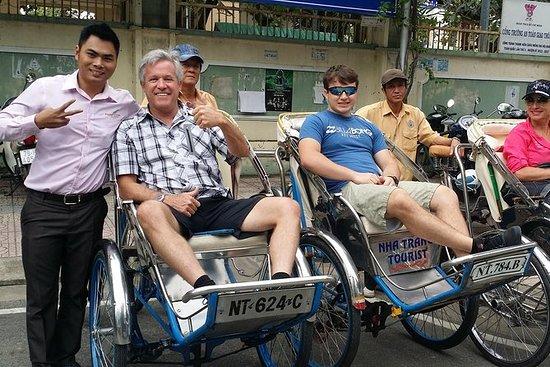 2-timers pedikabtur i Nha Trang