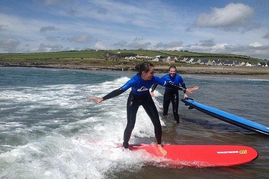Cours de surf pour les couples à...