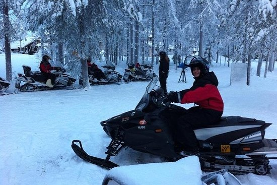 Off the Beaten Track Snowmobile...