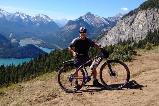 Calgary og Banff Mountain Biking...