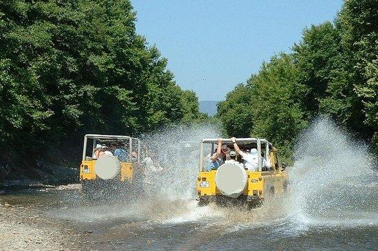 Jeepavontuur in Taurusgebergte ...