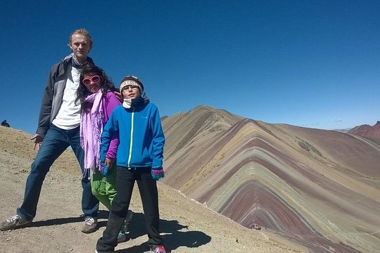 Privat tur: Rainbow Mountain fra Cusco