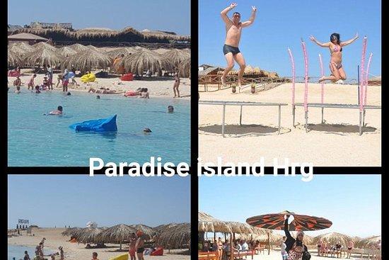 Île du Paradis à Hurghada