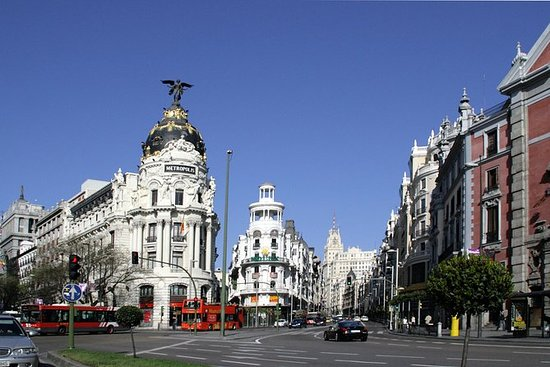 Discover Madrid from Barcelona by High...