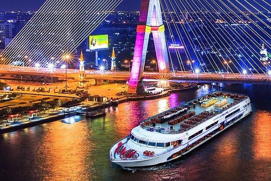 Crucero con cena de 3 horas en Bangkok