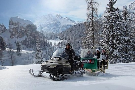From Bolzano - Snowmobile & Sledding...