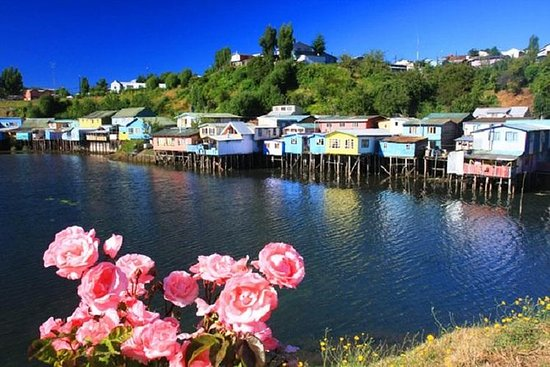 The island of Chiloé: Castro Dalcahue
