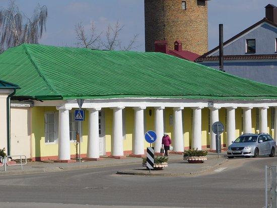 Новогрудок, Беларусь: Торговые ряды, дошедшие до наших дней