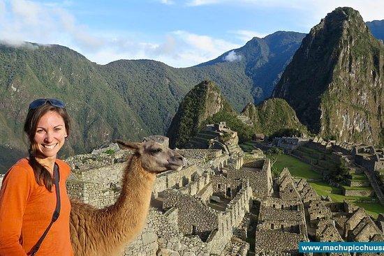 Trilha Inca curta a Machu Picchu em 2...