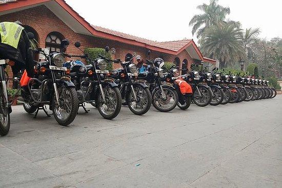 Excursão de motocicleta de Butão
